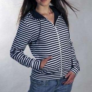 Sailor Breton Hoodie - XL