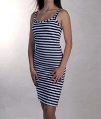 Sailor Breton Dress - L