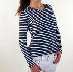 Sailor Women's Breton T-shirt Long Sleeve Blue/White