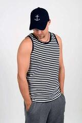 Sailor Breton Tank Top White/Blue