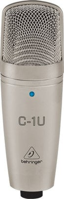 Behringer C-1U USB Studio Condenser Microphone