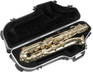 SKB Cases 1SKB-455W Contoured Pro Baritone Sax Case with Wheels