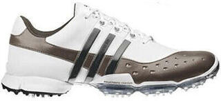 Adidas Powerband 3.0 Mens Golf Shoes White/Brown