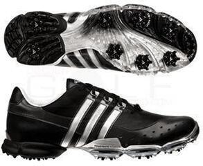 Adidas Powerband 3.0 Mens Golf Shoes Black/Silver