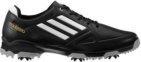 Adidas Adizero 6-Spike Mens Golf Shoes Black/White UK 10