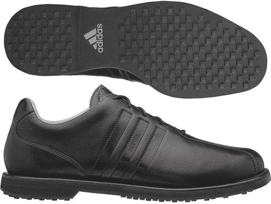 Adidas Adipure Z-Cross Mens Golf Shoes Black UK 7,5