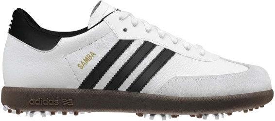 Adidas Samba Mens Golf Shoes White/Black UK 8