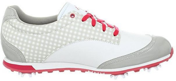 Adidas Driver Grace Womens Golf Shoes Run White/Chrome/Punch UK 4,5