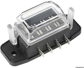 Osculati Watertight blade fuse holder box 4 housings