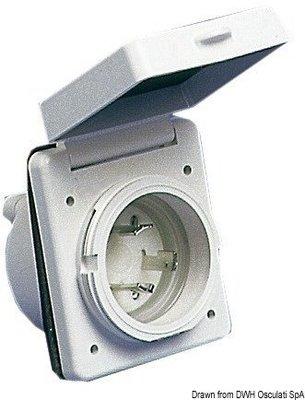 Osculati Plastová zásuvka 30A 220 V