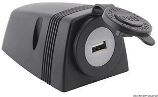Osculati USB socket + casing for deck installation