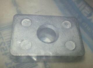 Quicksilver 97-875208 Anode - Aluminium