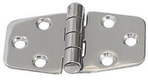 Lindemann Stamped AISI304 Hinge - 38x74mm