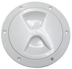 Lindemann Hatch cover PP - White 102mm