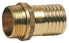Osculati Cast brass male hose adaptor 1/4ʺ x 8 mm