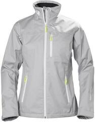Helly Hansen W Crew Jacket Silver Grey