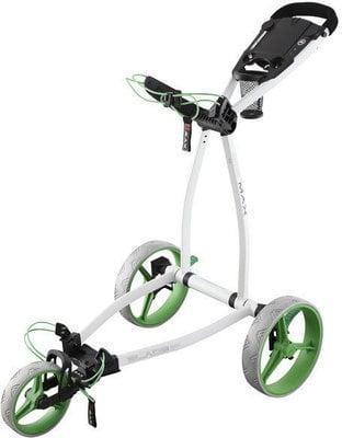Big Max Blade IP White/Lime Golf Trolley