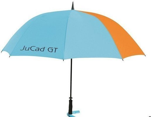 Jucad Umbrella with Pin Blue/Orange with JuCad GT Logo