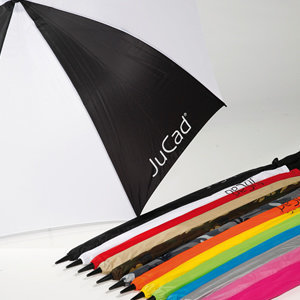 Jucad Umbrella with Pin White/Green