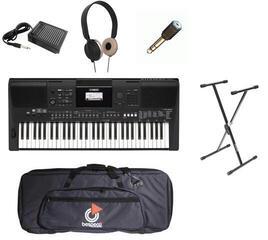 Yamaha PSR-E463 Deluxe Set