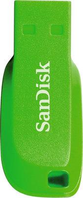 SanDisk FlashPen-Cruzer Blade 32 GB Electric Green