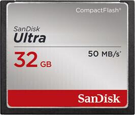 SanDisk Ultra CompactFlash Memory Card 32 GB