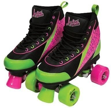 Luscious Skates Delish 39 Black/Green