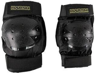 Harsh Kids Pack Protection Set Knee and Ellbow for Kids size L black