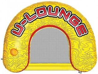 Airhead Inflatable U-Lounge 1 Person yellow/red