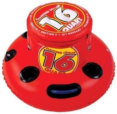 Sportsstuff Floating Cooler 16 Quart Red