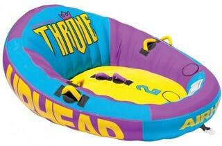 Airhead Towable Throne 2 Persons purple/blue