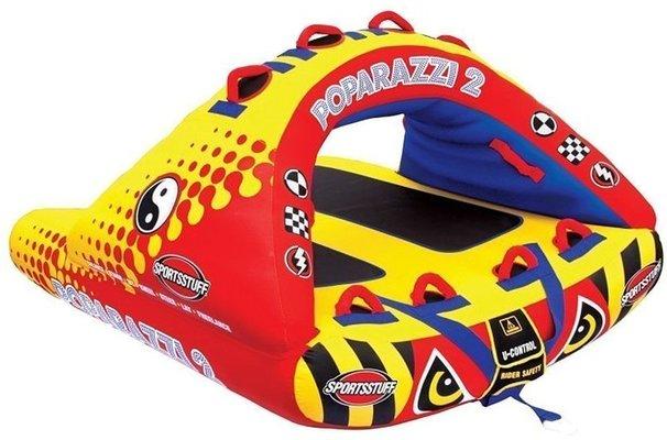 Sportsstuff Towable Poparazzi 2 Persons Yellow/Black/Red
