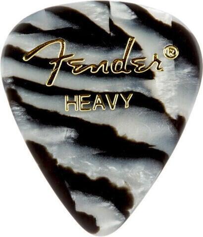 Fender 351 Shape Premium Pick Zebra Heavy
