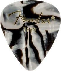Fender 351 Shape Premium Pick Zebra Thin