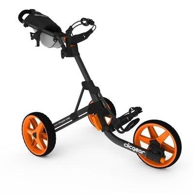 Clicgear 3.5+ Charcoal/Orange Golf Trolley