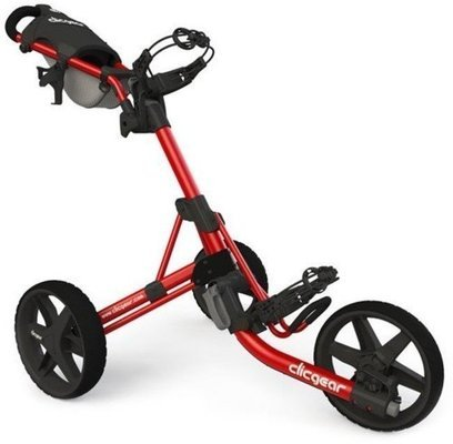 Clicgear 3.5+ Red/Black Golf Trolley