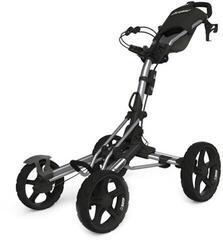 Clicgear 8.0 Silver/Black Golf Trolley