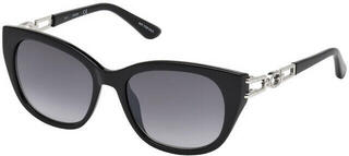 Guess GU7562 01B 55 Shiny Black /Gradient Smoke