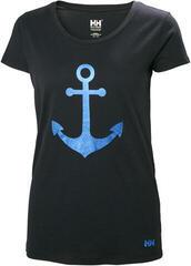 Helly Hansen W Graphic T-Shirt Navy