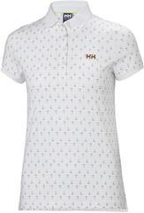 Helly Hansen W Naiad Breeze Polo White Anchor