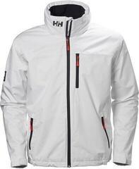 Helly Hansen Crew Hooded Midlayer Jacket White