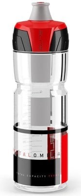 Elite Cycling Crystal Ombra Clear/Red 750ml