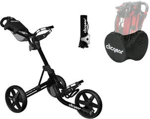 Clicgear 3.5+ Golf Trolley Черeн/Deluxe Set
