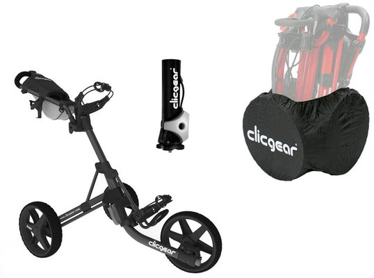 Clicgear 3.5+ Charcoal/Black DELUXE SET