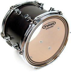 "Evans EC2 Clear Tom 15"" Transparent Resonanzfell"