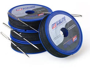 FSE Robline Waxed Whipping Twine Kit navyblue 0,8mm x 80 m