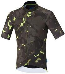 Shimano Breakaway Short Sleeve Jersey Neon Lime