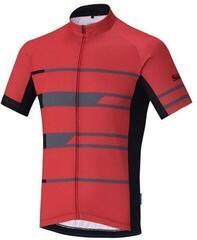 Shimano Team Short Sleeve Jersey Red L