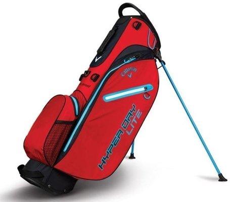 Callaway Hyper Dry Lite Red/Black/Neon Blue Stand Bag 2018