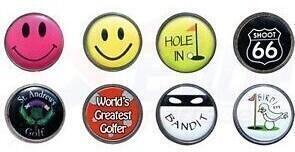 Longridge Novelty Flat Ball Marker 50 Pack